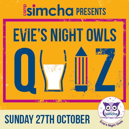 Evie's quiz night square